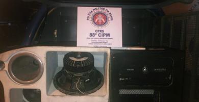 88ª CIPM interrompe evento clandestino